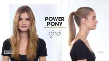Power Pony | Ponytail Up-do Tutorial | ghd #infini
