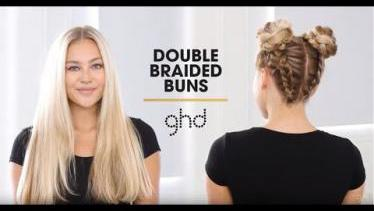 Double Braided Buns | ghd Hairstyle How-To
