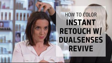 Instant root touch-ups with Dualsenses Color Reviv