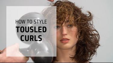 Style Natural Tousled Curls with Surf Oil| Curly H