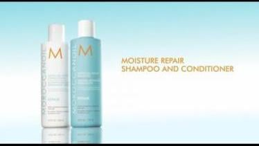 How To: Moroccanoil Moisture Repair Shampoo and Co