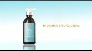 How To: Moroccanoil Hydrating Styling Cream